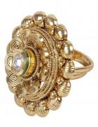 Ethnic μεγάλο δαχτυλίδι
