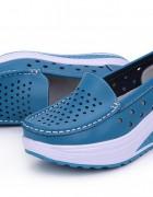 Γυναικεία παπούτσια για απώλεια βάρους- γνήσιο δέρμα