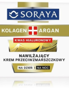 Soraya 24ωρη αντιρυτιδική κρέμα προσώπου  με κολλαγόνο- Argan  και Υαλουρονικό οξύ